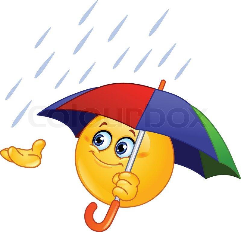 Billedresultat for smiley paraply pige