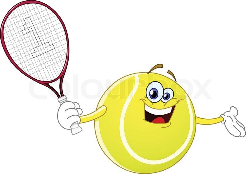 Risultato immagine per racchetteda tennis animati