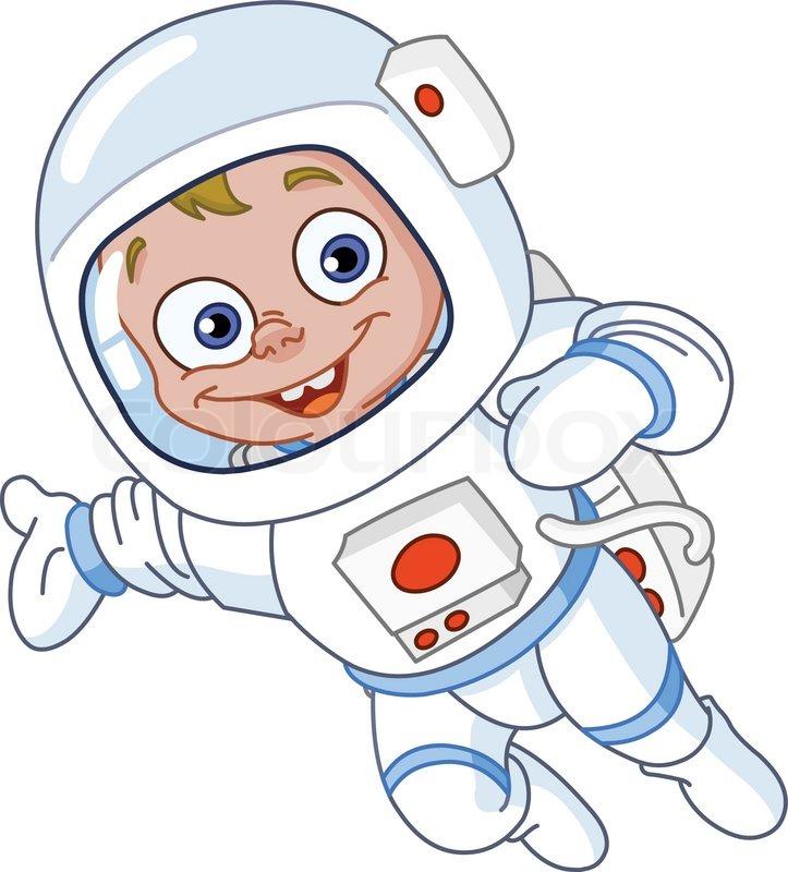 Junge Astronaut Vektor 3461314 on Cartoon Astronaut Clip Art