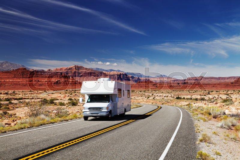 Traveling by motorhome, American ...