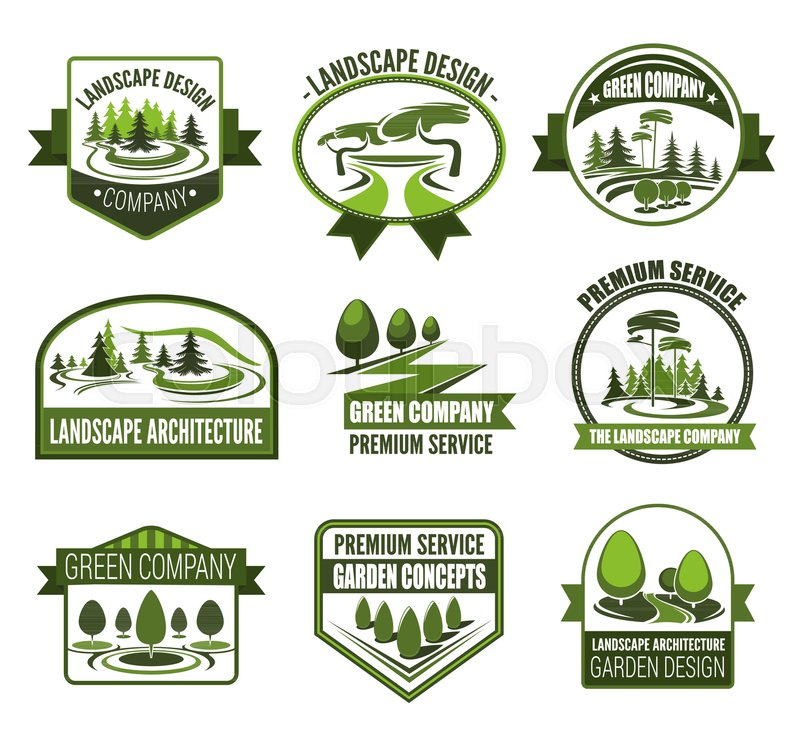 Gardens Association Icons For Landscape Design And Horticulture
