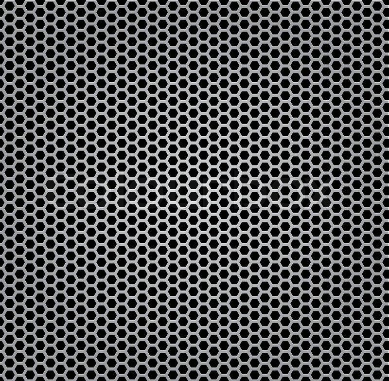 Silber farbe  Chrom Textur Grill , Metall, Farbe Silber | Vektorgrafik | Colourbox
