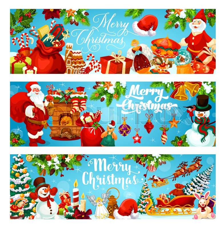 Winter Holiday Banners Ios Banners