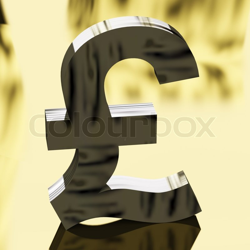 Pound Sign As Symbol For Money Or Cash Stock Photo Colourbox