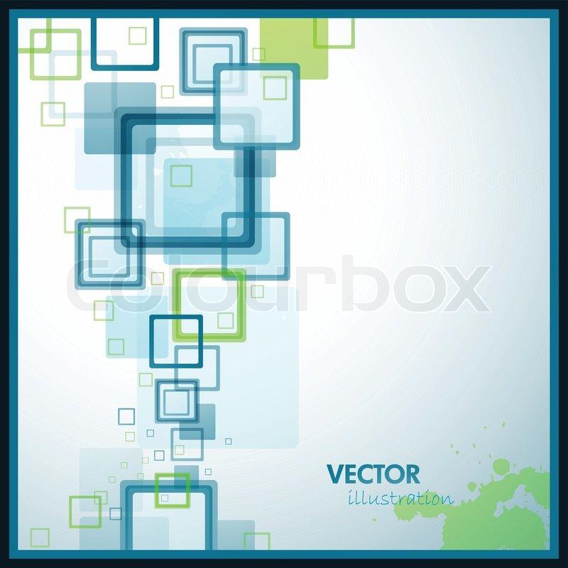 Stock vector of phlet background design