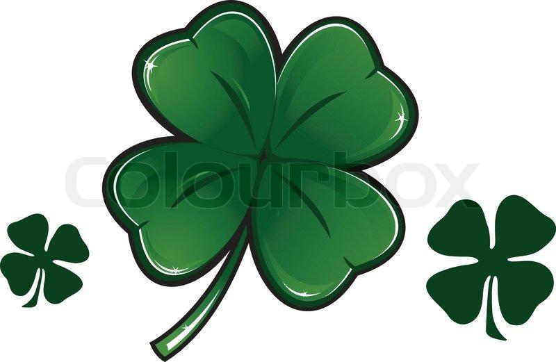 Buy Stock Photos of Four leaf Clover Colourbox