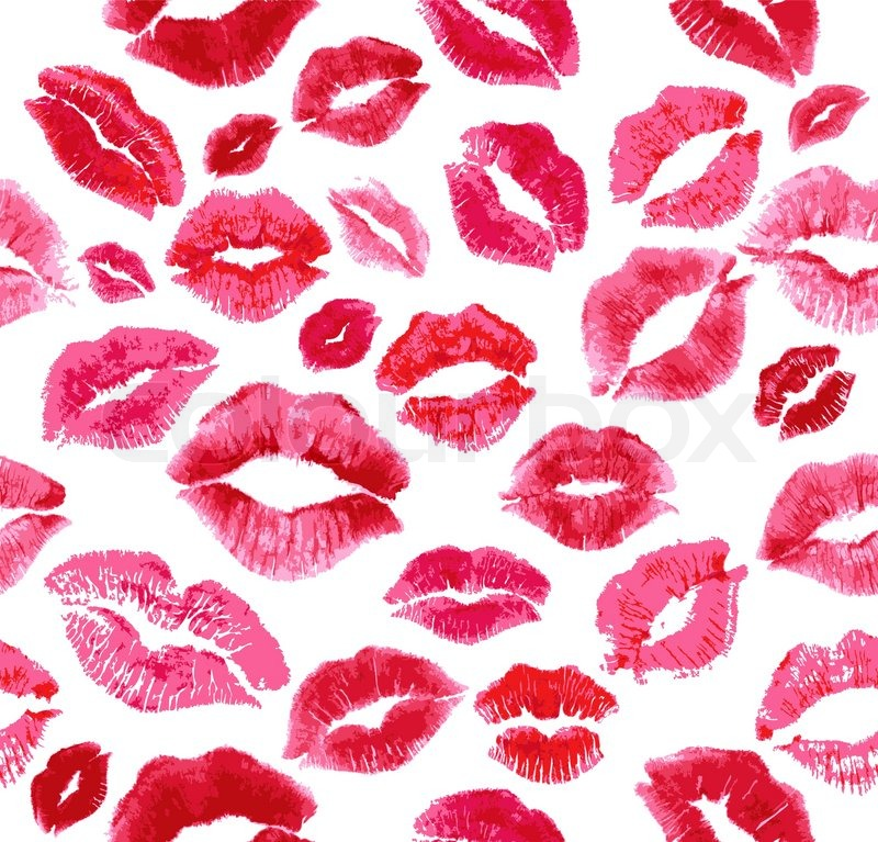 Lipstick Kiss Wallpaper Lipstick kiss wallpaper Lip Print Wallpaper