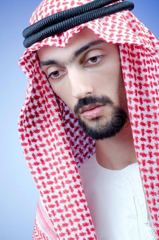 Man In Arab Clothing Stock Photo Colourbox