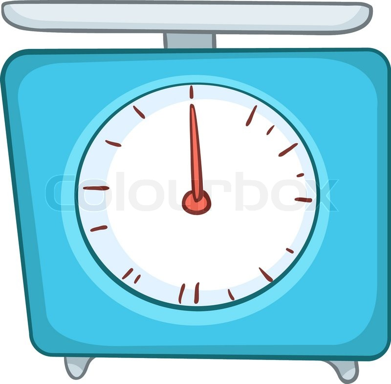 Measuring Weight Cartoon Cartoon Home Kitchen S...
