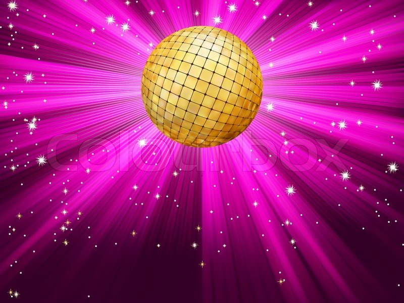 Disco ball light party city
