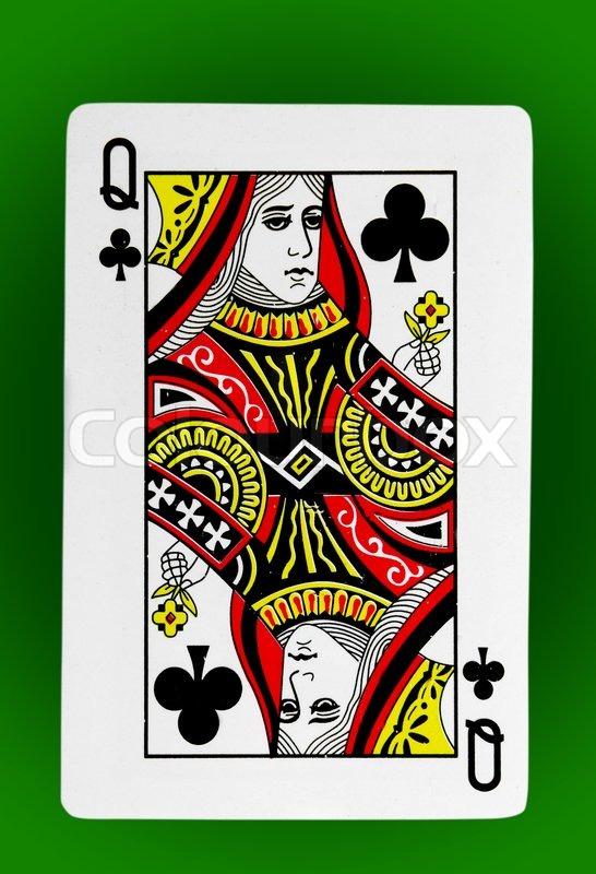 Kartenspiel Schwarze Dame