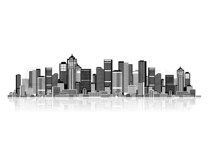 Cityscape Background For Your Design Urban Art Stock