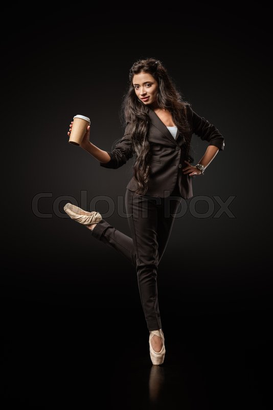 Attractive young businesswoman in ...