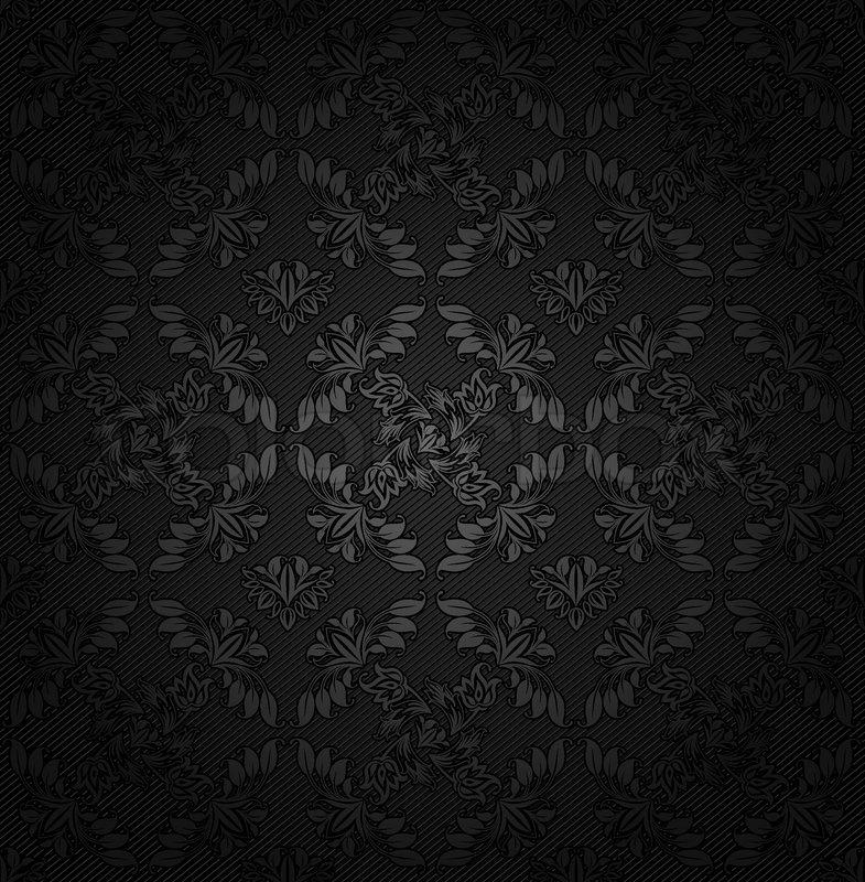 Corduroy Textur Dunklen Hintergrund Stock Vektor
