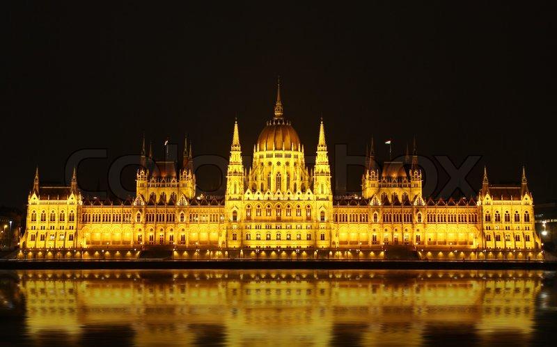 night, Budapest, Hungary'