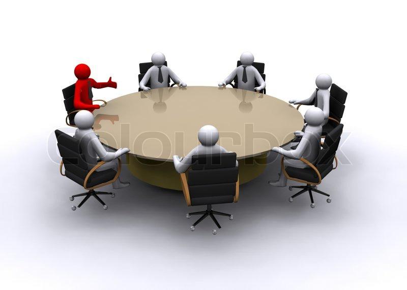Administrative Armchair Blue Board Of Directors Boss