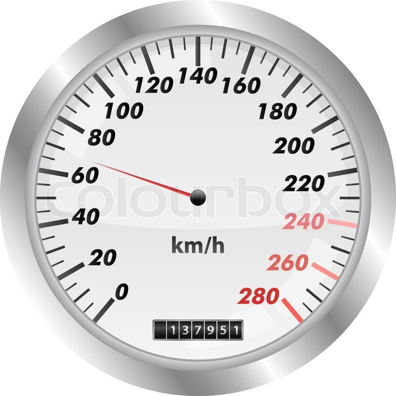 speedometer stock vector colourbox
