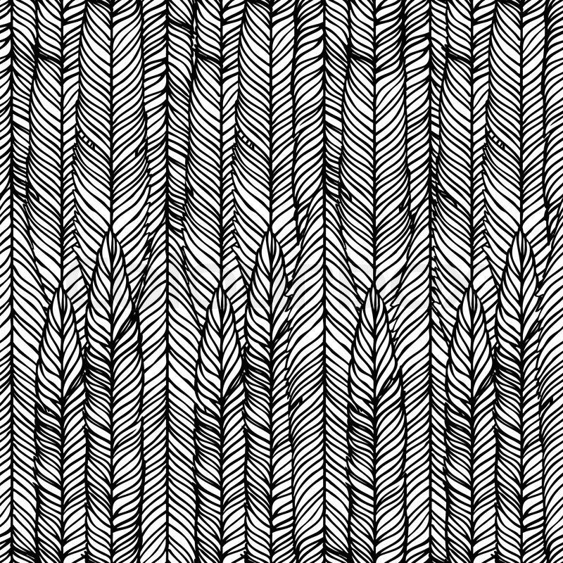 Optische t uschung schwarze und wei e abstrakte nahtlose for Schwarze tapete muster