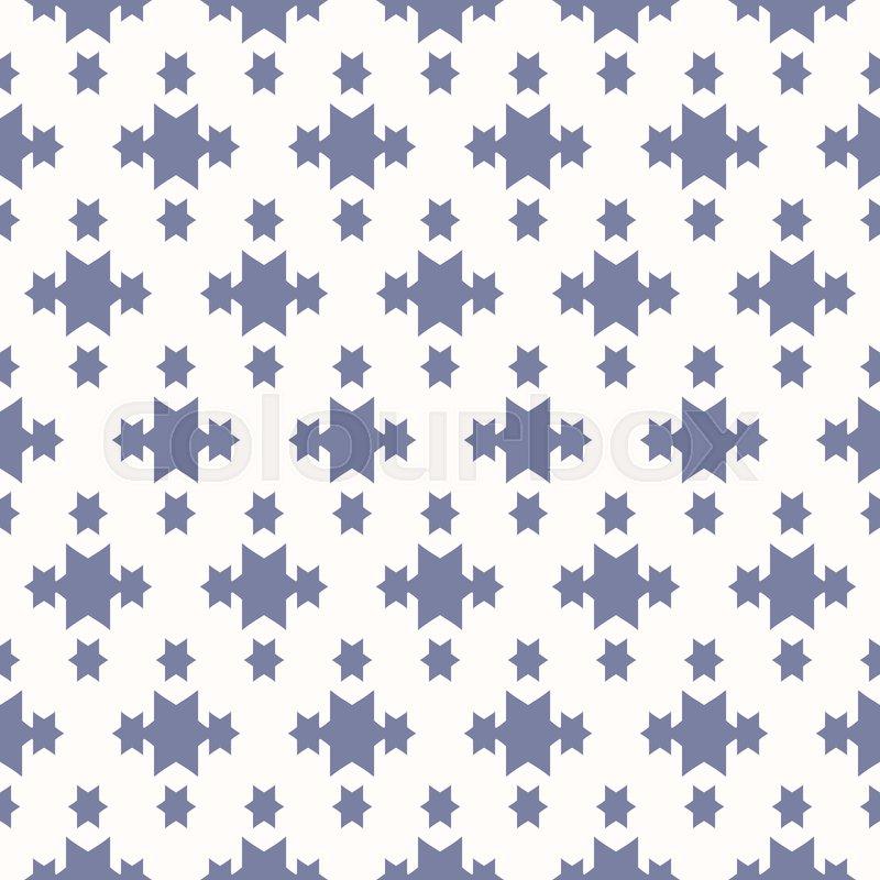 492cf1486ea0 Vector blue geometric seamless pattern ...