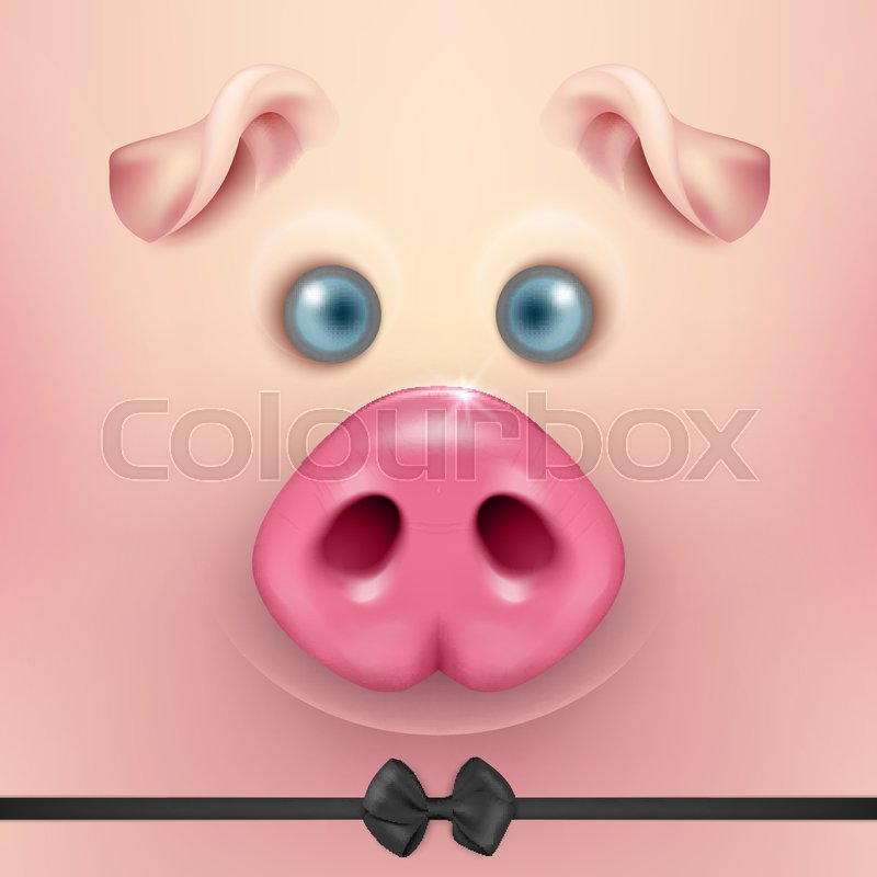 976918ddb2404 Vector background with 3d funny ...