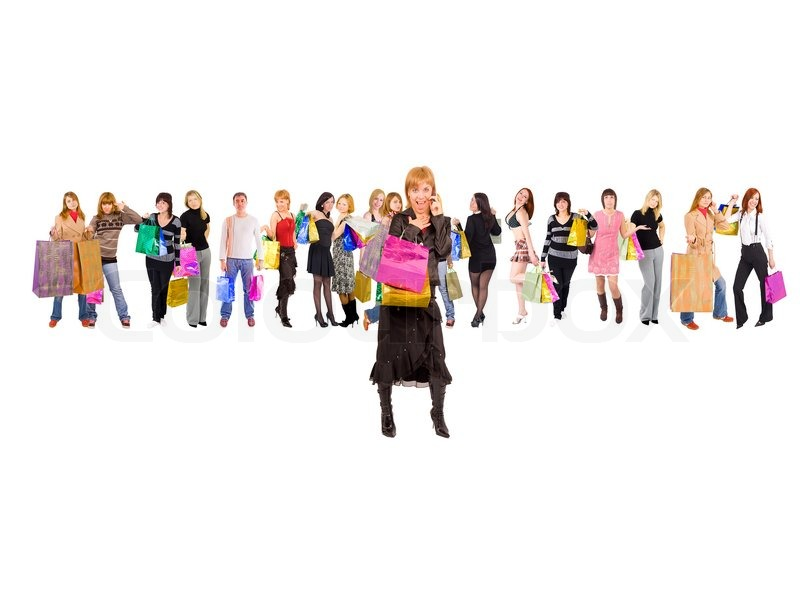 Customer Shopping Concept | Stock Photo | Colourbox