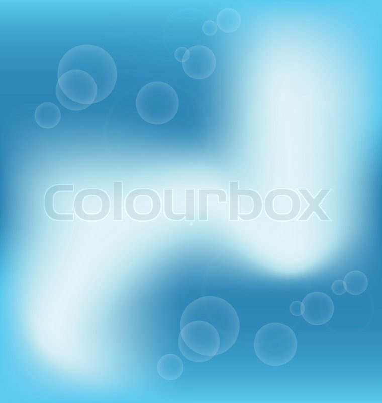 Abstract blue light background for design business card | Stock ...