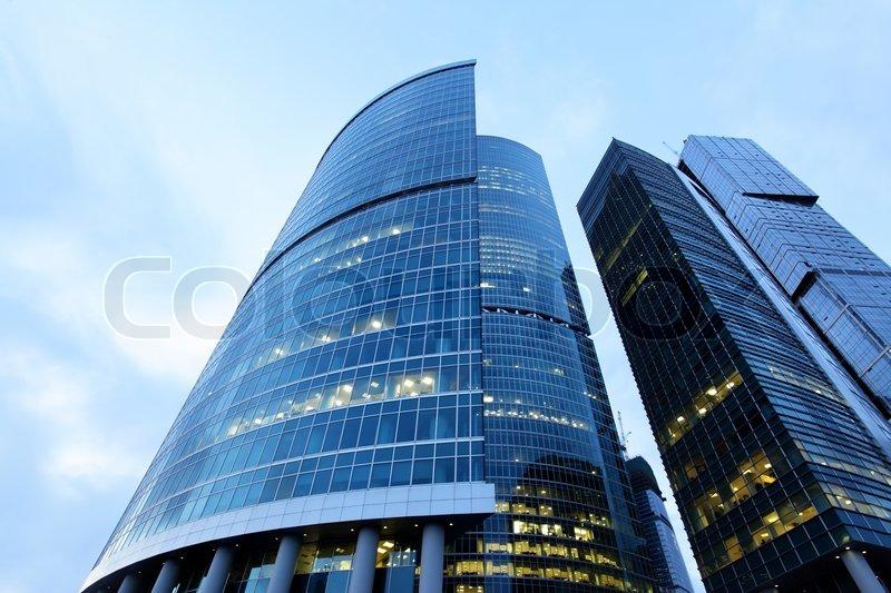 Skyscrapers, stock photo