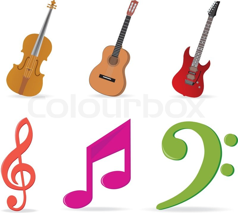 Musical Terms And Symbols Music Symbols Vector