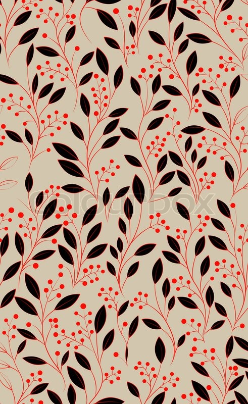 Abstract Hand Drawing Seamless Pattern With Flowers Can Be Used For Wallpaper Fills Web Page Background Surface Textures Illustration