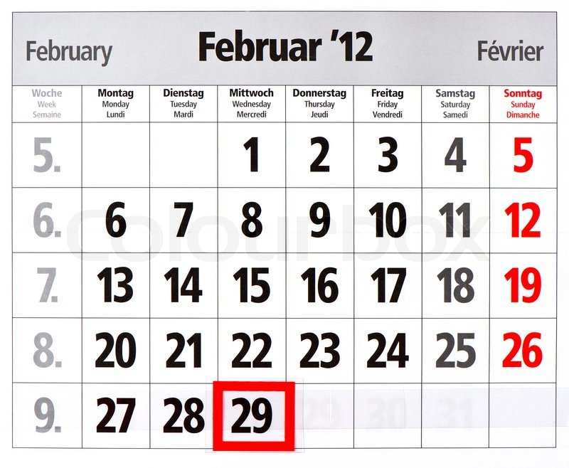 Julian Calendar Leap Year And Non Leap Year | Calendar Template 2016