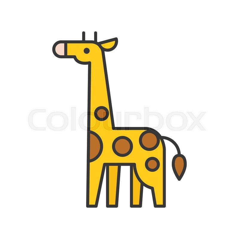 db046147d0864 Stock vector of  giraffe vector