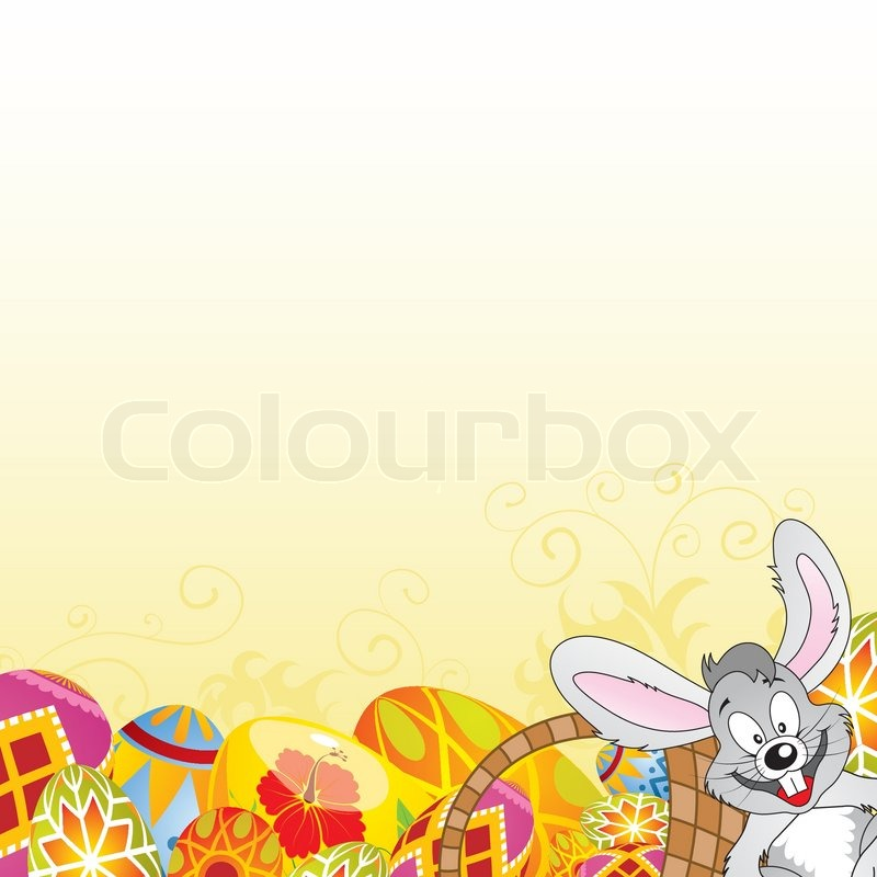 Easter Frame | Stock Vector | Colourbox