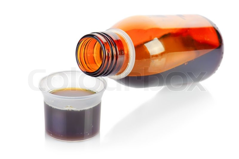 how to get cough syrup out of your system