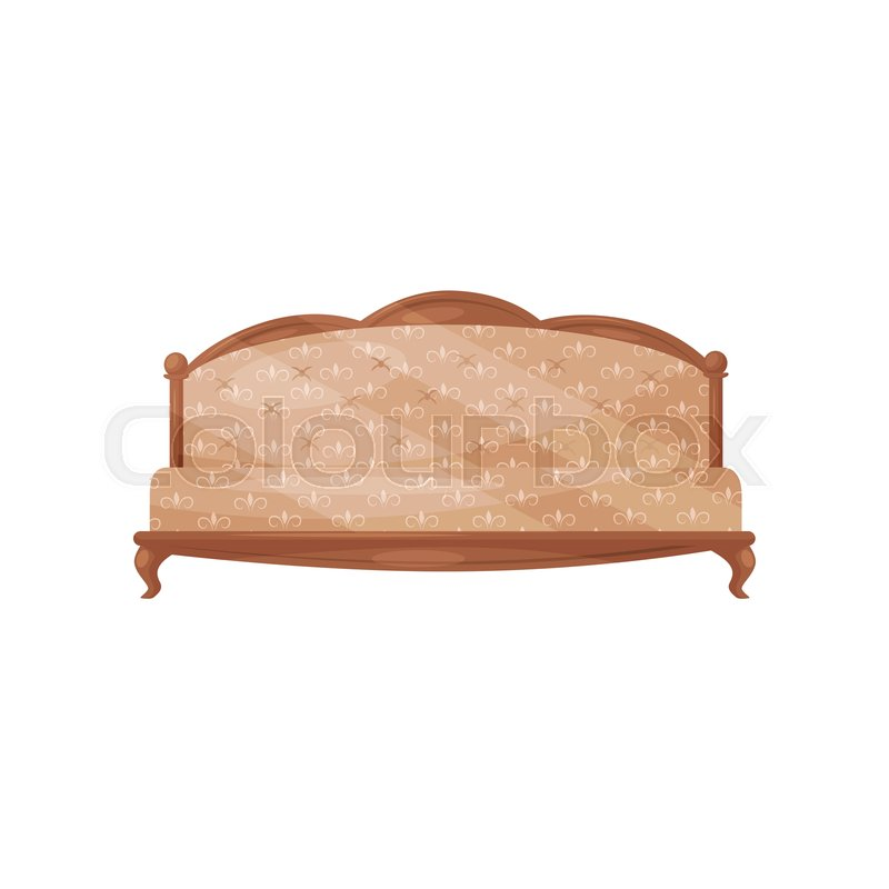 a687343c04884 Classic vintage sofa. Wooden couch ...