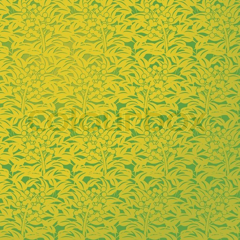 Grüne Tapete  Stock-Vektor  Colourbox