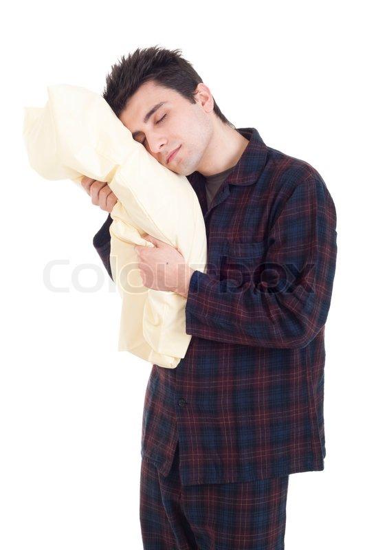 mann im schlafanzug