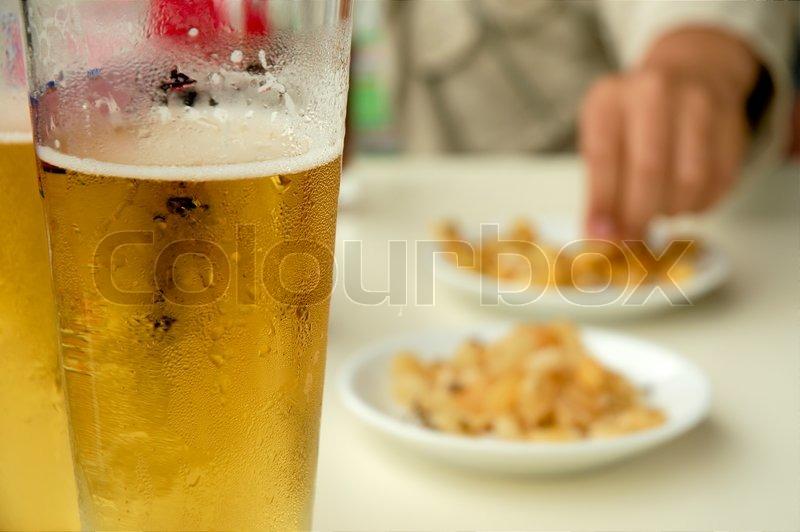 Beer Portugal Beer Snack in Portugal