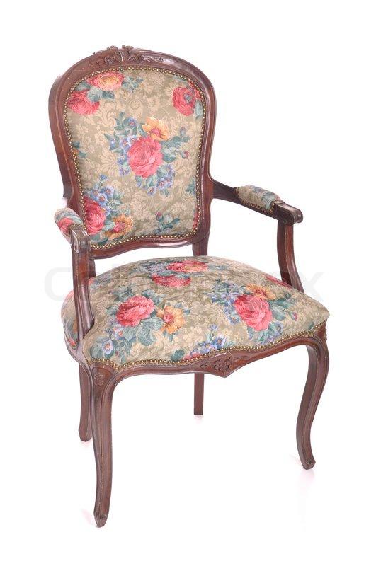 Antique chair, stock photo - Antique Chair Stock Photo Colourbox