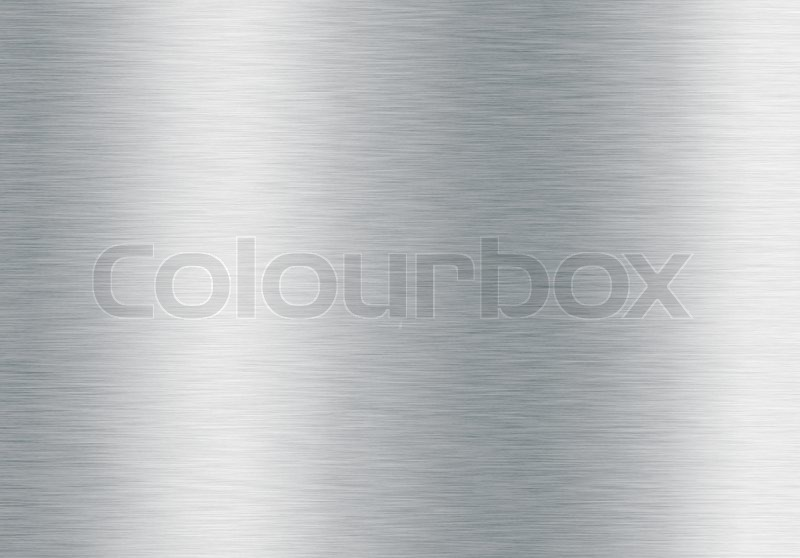 Brushed silver metallic background, stock photo