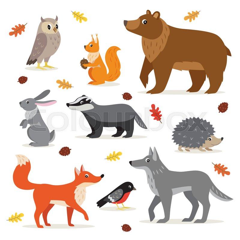 Image result for rabbit, squirrel, badger and hedgehog