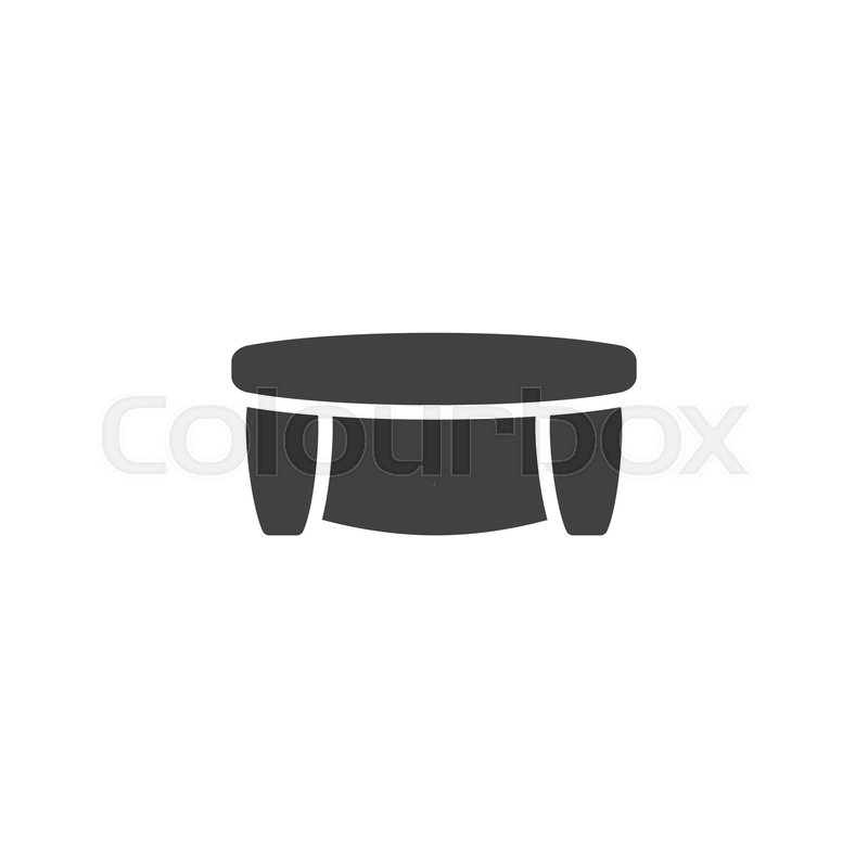 Cool Couch Top View Vector Icon Filled Stock Vector Machost Co Dining Chair Design Ideas Machostcouk