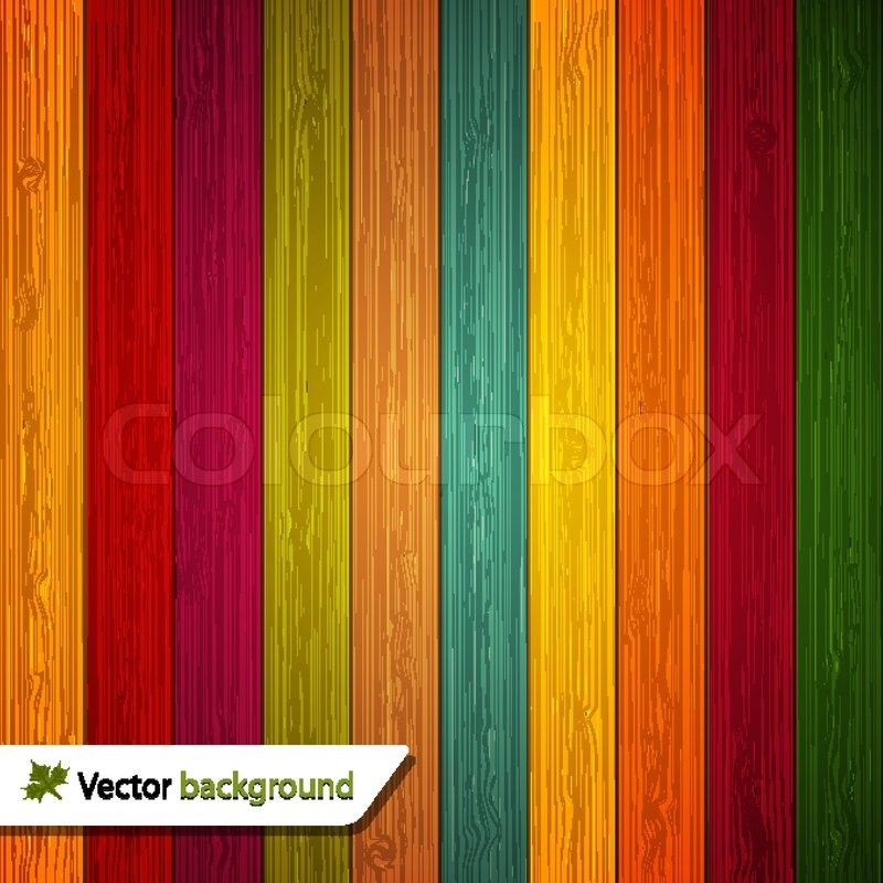 10 Vector Colored Wooden Background EPS