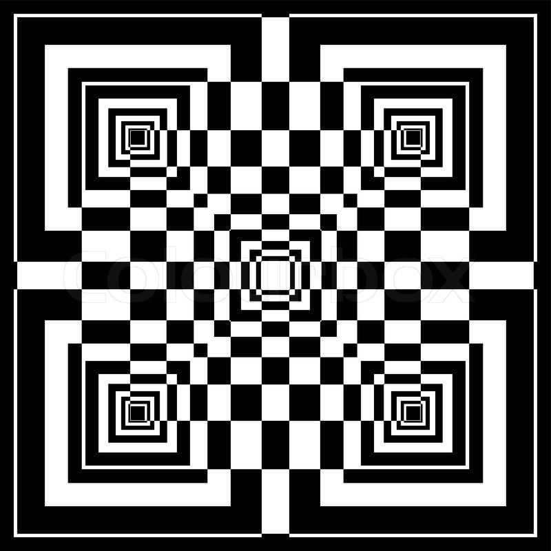 """Kazuya Akimoto Art 365+   """"Isolated 16 Red Squares"""": geometric"""