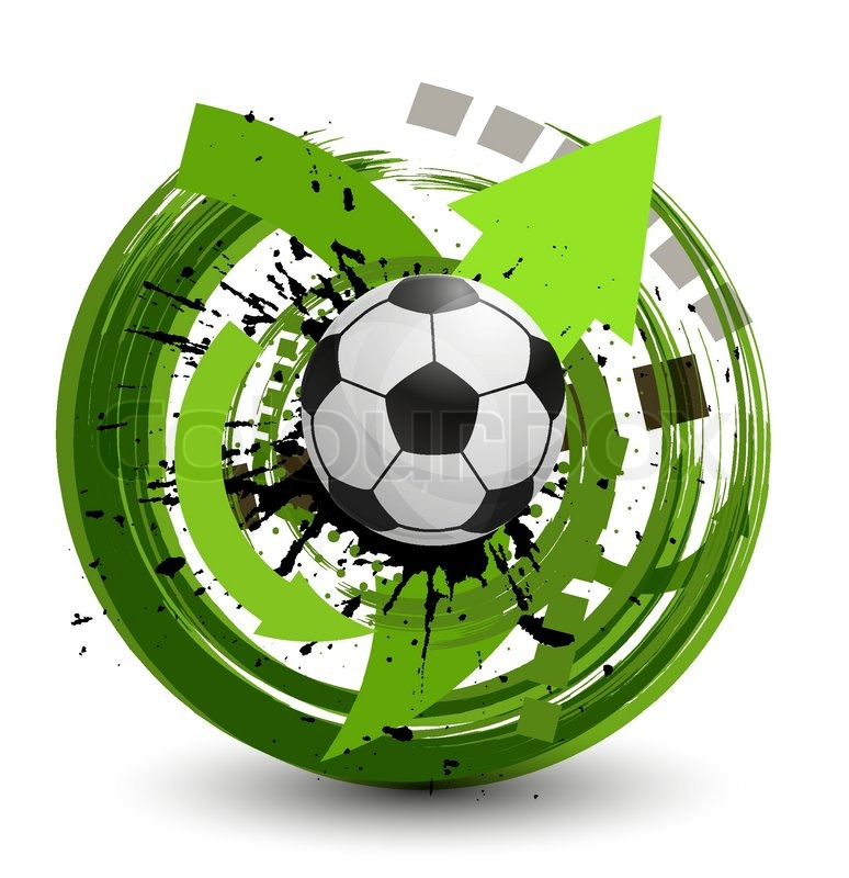 vector soccer ball stock vector colourbox rh colourbox com soccer vectoriel soccer vectoriel
