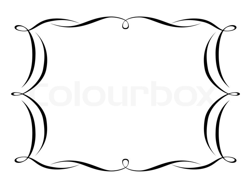 chinese decorative frame border free vector 20 067