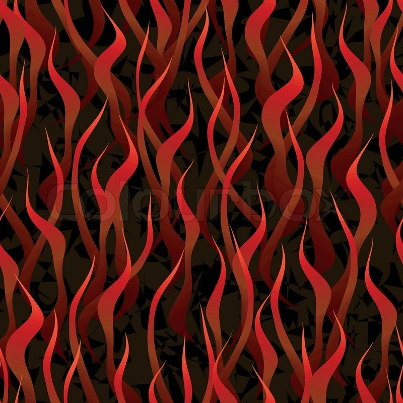 Hell fire background seamless stock vector colourbox voltagebd Choice Image