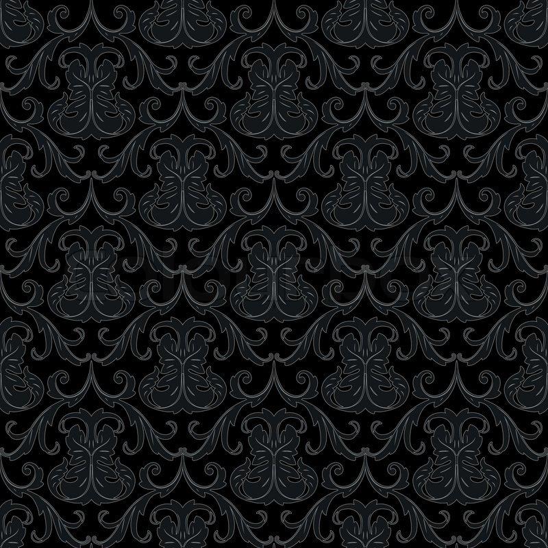 vector seamless renaissance wallpaper - photo #8
