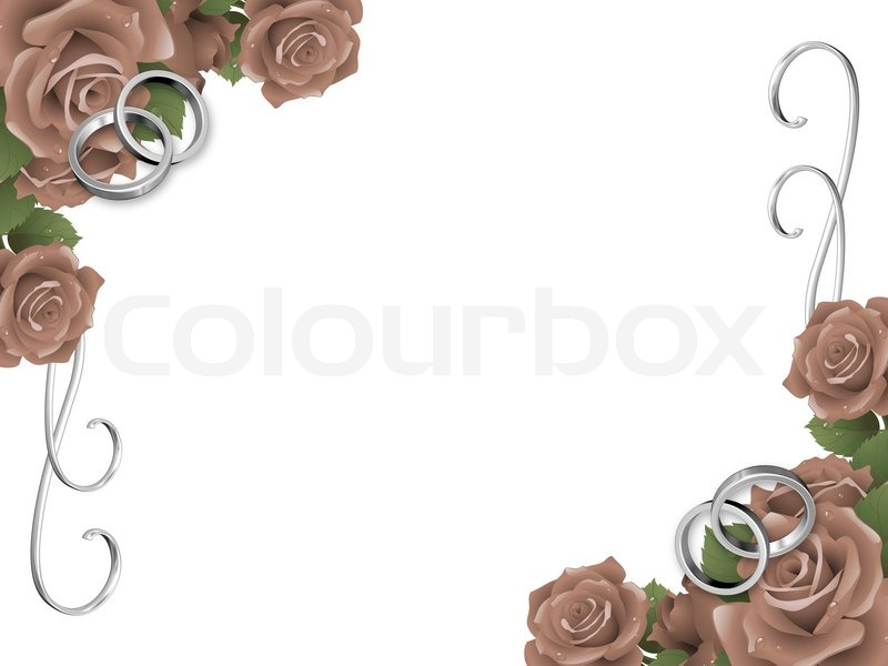 wedding background  invitation card