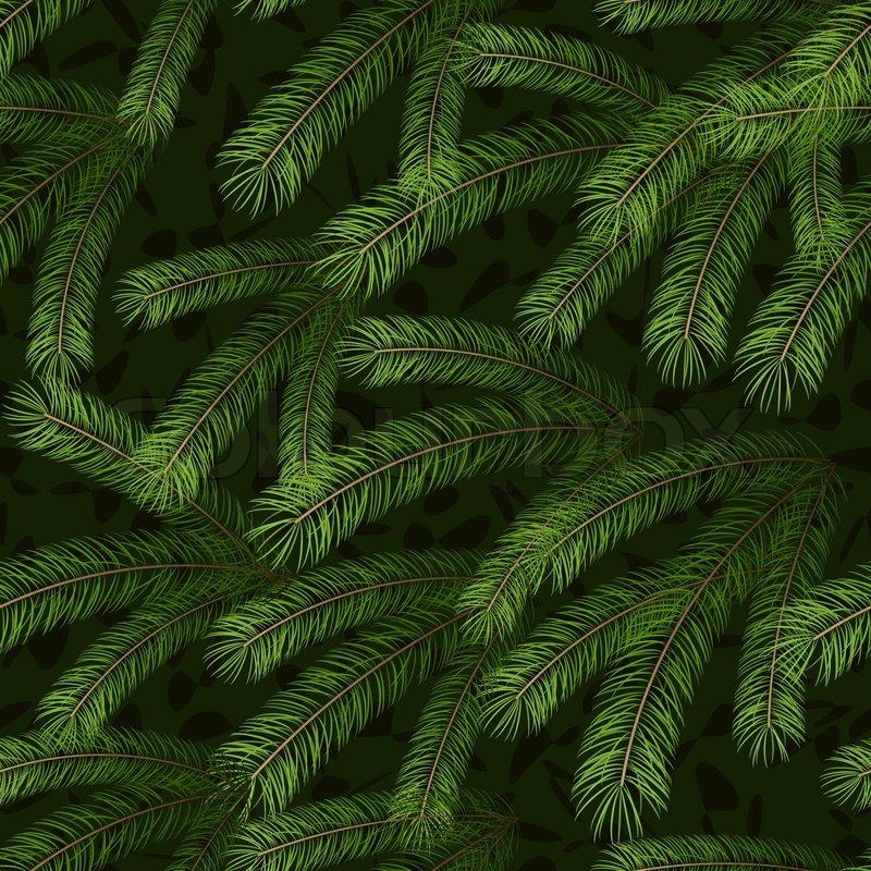 Pine Needle Christmas Tree