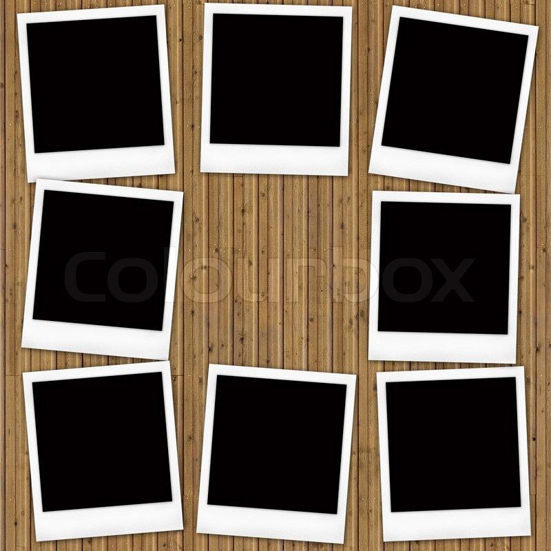 8x10 White Wood Frame